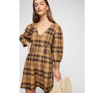 Free People Wnglish Rose Mini Dress